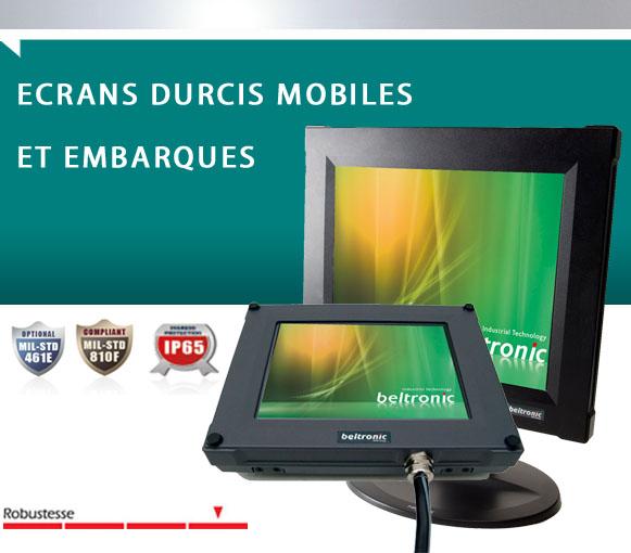 Ecran Moniteur Durci RDU-MOB  Beltronic