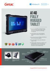 Tablette Tactile Durcie RTC-A140G2 - Beltronic PC
