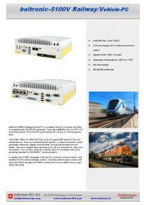 Contrôleur pour véhicule NUVO-5100VTC