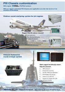 PXI Customization solutions - Beltronic